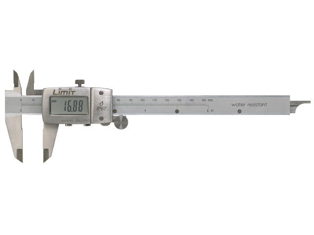 Vodoodporno digitalno kljunasto merilo