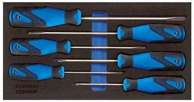 Set izvijačev v 1/3 CT modulu