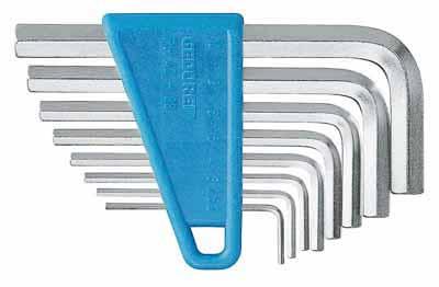 Set inbus ključev 2-10 mm
