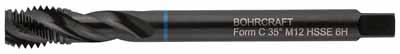 Strojni navojni svedri Modri obroč DIN 376 HSS-E (Co 5) VAP • M, oblika RSP 35°
