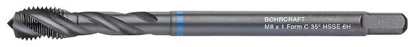 Strojni navojni svedri Modri obroč DIN 376 HSS-E (Co 5) VAP • MF, oblika C RSP 35°