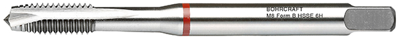 Strojni navojni svedri Rdeči obroč DIN 371 HSS-E (Co 5) M, oblika B