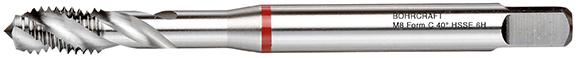 Strojni navojni svedri Rdeči obroč DIN 371 HSS-E (Co 5) M, oblika C