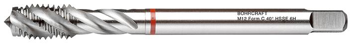 Strojni navojni svedri Rdeči obroč DIN 376 HSS-E (Co 5) M, oblika C